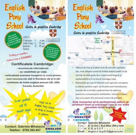 Meditatii limba engleza si pregatire examen cambridge, 30 ron