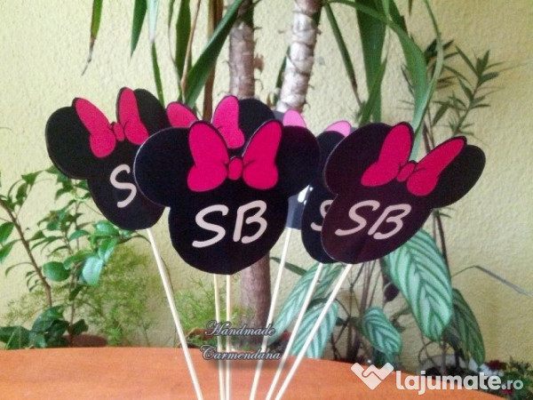 Decoratiuni Candy Bar Minnie 2 Ron Lajumatero