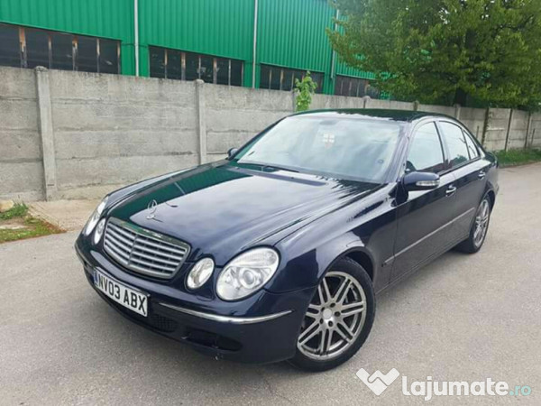 Mercedes benz e class 2 7 cdi manual 6 1 trepte recent for Mercedes benz e class manual