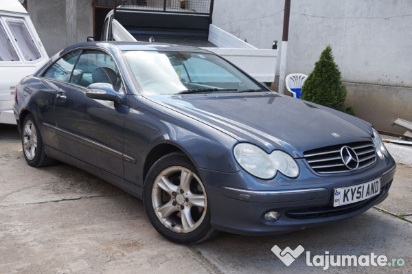 mercedes clk 270 cdi avantgarde full 2 7 cdi an 2005 eur. Black Bedroom Furniture Sets. Home Design Ideas