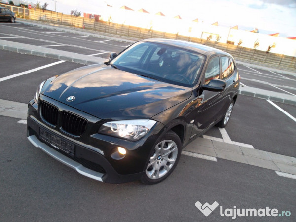 bmw x1 18d s drive 2012 impecabil adus acum eur. Black Bedroom Furniture Sets. Home Design Ideas