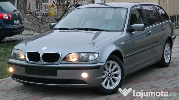 bmw e46 320d touring 6 trepte euro 4 2 0 diesel an 2004. Black Bedroom Furniture Sets. Home Design Ideas