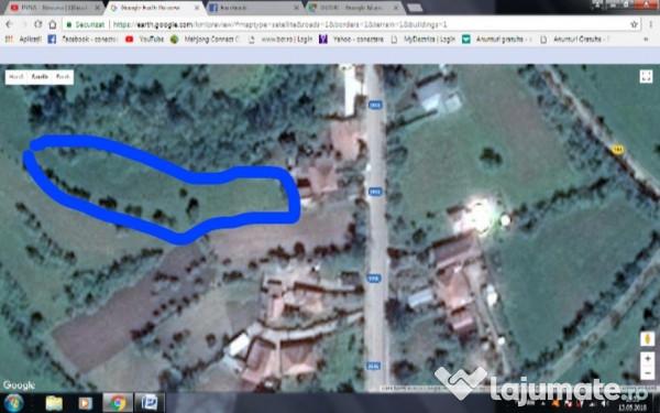 Vanzare  terenuri constructii  4876 mp Buzau, Parscov  - 9752 EURO