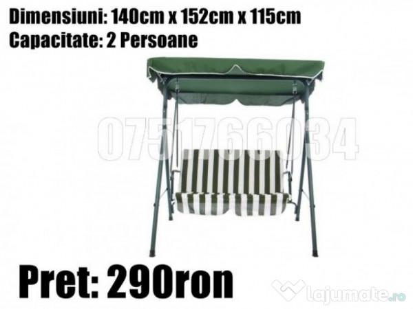 Balansoar De Gradina Metalic.Leagan Banca Balansoar Metal Curte Gradina Terasa 290 Ron