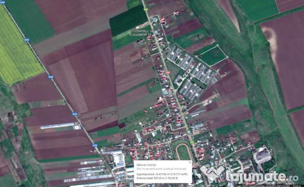 Vanzare  terenuri agricol  34 ha Iasi, Boureni (Targu Frumos)  - 170000000 EURO