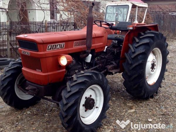 tractor fiat 550 dt 4x4 stare perfecta injectie bosch acte eur. Black Bedroom Furniture Sets. Home Design Ideas