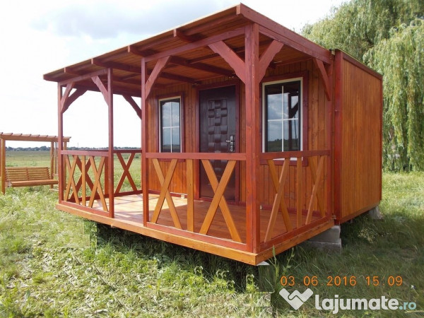 Casa Mobila Din Lemn.Casa Mobila Noua Si In Rate 3 999 Eur