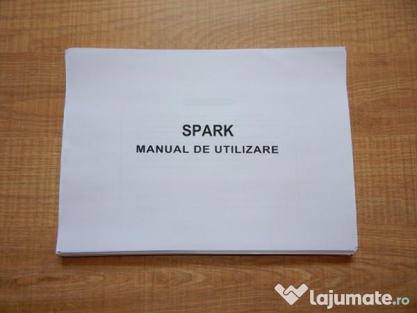 manual utilizare si exploatare chevrolet spark 2005 2009 50 ron rh lajumate ro 2014 Chevrolet Spark LS Manual 2014 Chevrolet Spark LS Manual