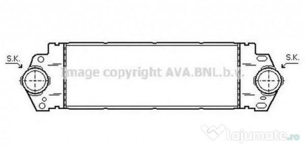 Dna Timisoara Detail: Radiator Racire DNA2216 NISSAN ALMERA II (N16) 2.2 Di 81kw