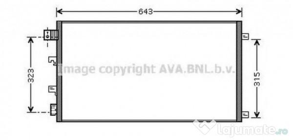 Dna Timisoara Detail: Radiator Intercooler DNA4339 NISSAN NAVARA (D40) 2.5 DCi