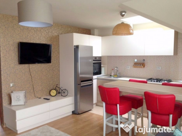 apartament 2 camere living open space parcare in buna