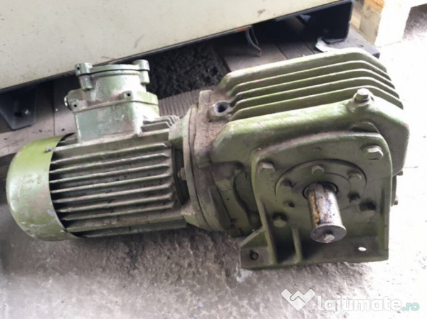 Motor cu reductor 1 1 kw trifazic 900 ron for Electric motor repair reno nv