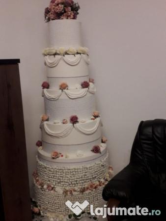 Machetă Tort Nunta 6 Etaje 600 Ron Lajumatero