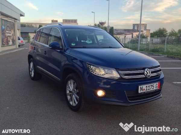 vw tiguan 4motion 2 0 tdi 170 cp sport style 2013 eur. Black Bedroom Furniture Sets. Home Design Ideas