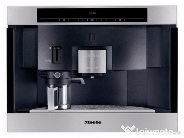 espressor miele cva 6800 cafetiera incorporabila aparat ca ron. Black Bedroom Furniture Sets. Home Design Ideas