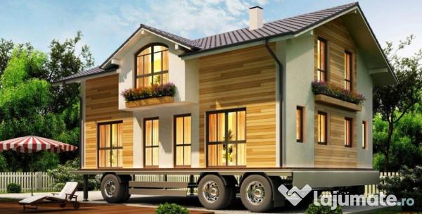 Case mobile construim la comanda eur for Case prefabbricate per terreni agricoli