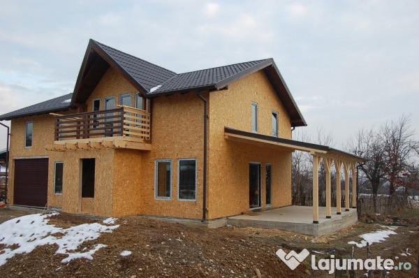 Construim case de locuit de lemn placate cu osb 90 eur for Foto case americane