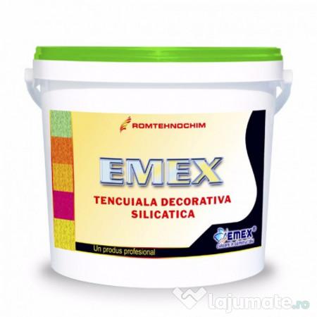 Tencuiala Decorativa Silicatica.Tencuiala Decorativa Silicatica Emex 12 Ron Lajumate Ro