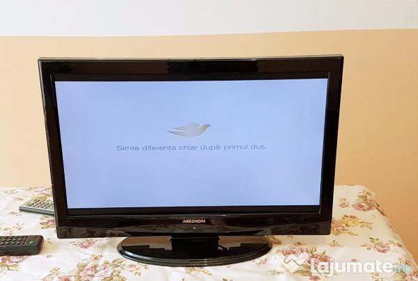 televizor lcd medion 32125 22 inch 56 cm impecabil 170 ron. Black Bedroom Furniture Sets. Home Design Ideas