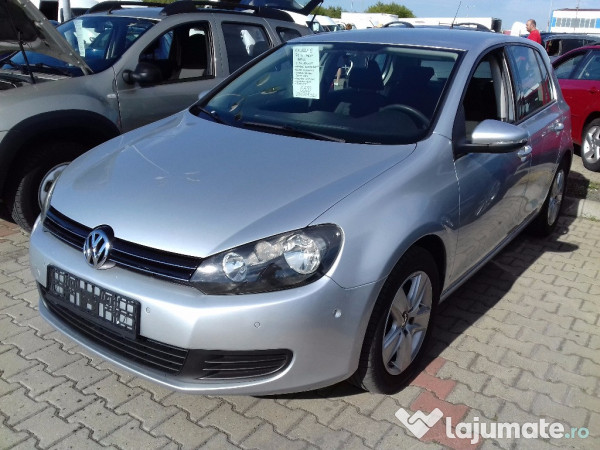 vw golf 6 2 0 tdi 140 cp 2009 eur. Black Bedroom Furniture Sets. Home Design Ideas