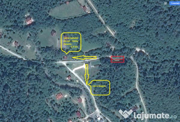 Vanzare  terenuri agricol  400 mp Sibiu, Porumbacu de Sus  - 9800 EURO