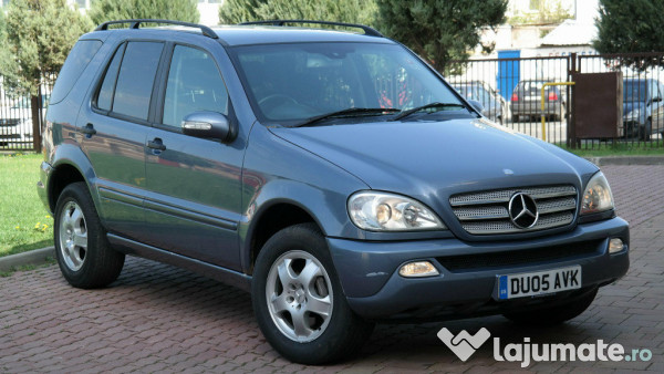 mercedes benz ml270 2 7 cdi diesel an 2005 eur. Black Bedroom Furniture Sets. Home Design Ideas
