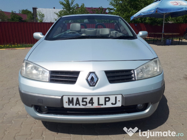 renault megane 2005 cabrio 1 9 tdi 6 trepte. Black Bedroom Furniture Sets. Home Design Ideas