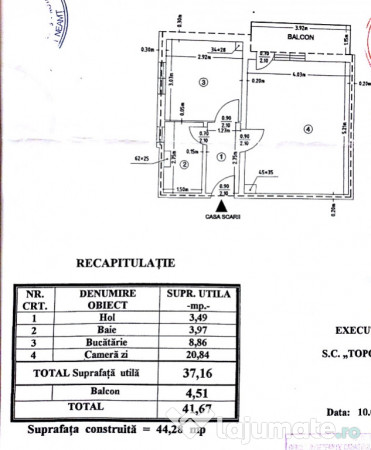 Vanzare  garsoniera Neamt, Valeni (Piatra-Neamt)  - 25500 EURO