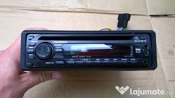 Cd Player Radio Auto Sony Cdx-gt31u Usb Aux Mp3  250 Ron
