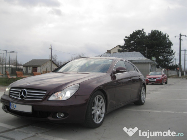 mercedes cls 320 cdi an 2006 inmatriculat ro full eur. Black Bedroom Furniture Sets. Home Design Ideas