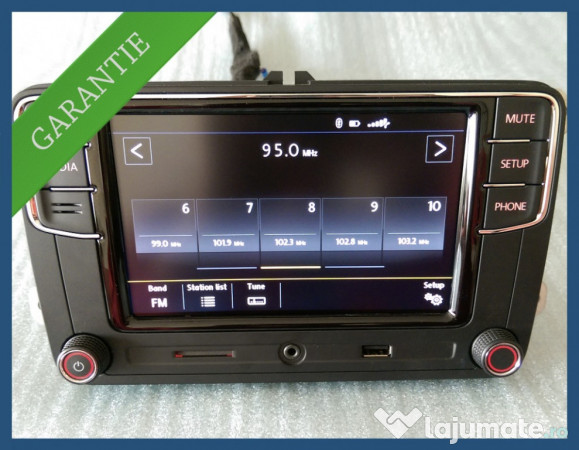 radio rcd 330 plus nou bluetooth mp3 usb vw golf passat. Black Bedroom Furniture Sets. Home Design Ideas