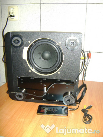 subwoofer profesional nou yamaha yst fsw050 import. Black Bedroom Furniture Sets. Home Design Ideas