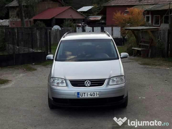 vw touran din 2005 motor 1 9 tdi 105 cp 6 1 trepte eur. Black Bedroom Furniture Sets. Home Design Ideas
