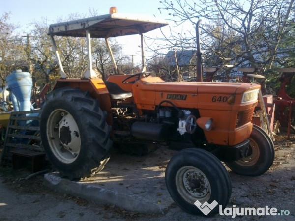 Prächtig Tractor fiat 640 de 64 cp in 4 cilindri recent adus, 4.550 eur @IP_86