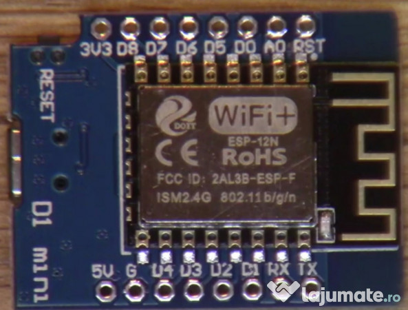 Wemos D1 mini esp8266 wifi pt proiecte arduino PS4 xploit, 26 ron