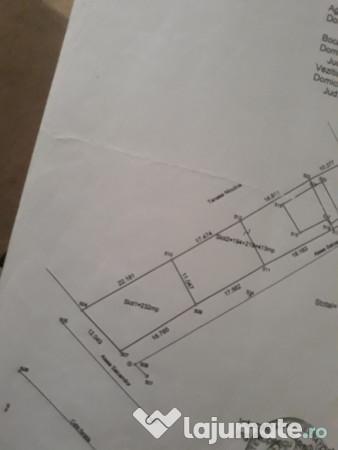 Vanzare  terenuri constructii  232 mp Arges, Stefanestii Noi  - 8000 EURO