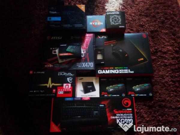 Calculator Gaming Msi X470 Amd Ryzen 5 1600X Nou, 4 000 ron