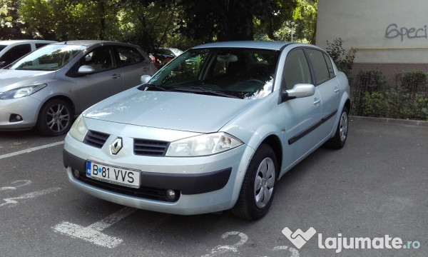 renault megane ii sedan 80 000 km carte service accept test eur. Black Bedroom Furniture Sets. Home Design Ideas
