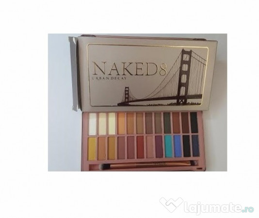 Trusa Machiaj Profesionalatrusa Make Up Naked 8 Urban Decay 45 Ron