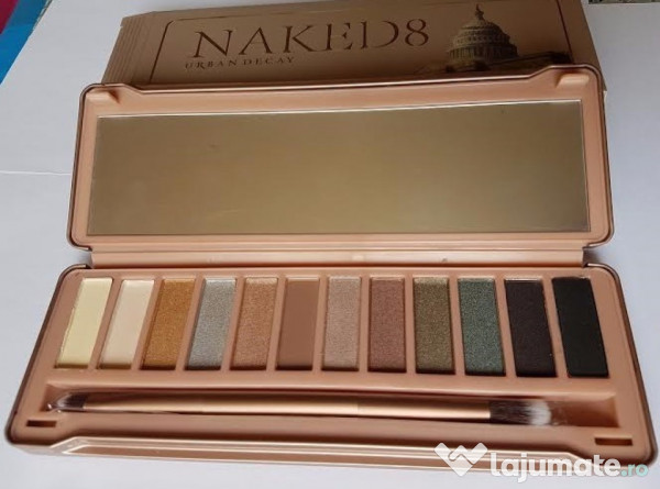 Trusa Make Up Profesionalatrusa Machiaj Naked 8 Urban Decay 40 Ron