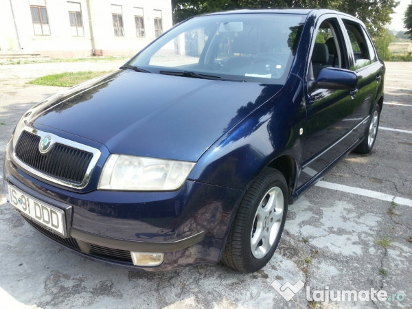 skoda fabia 2002 impecabila taxa 0 eur. Black Bedroom Furniture Sets. Home Design Ideas