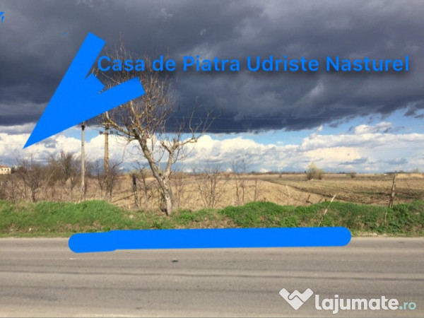 Vanzare  terenuri constructii  5600 mp Giurgiu, Herasti  - 56000 EURO