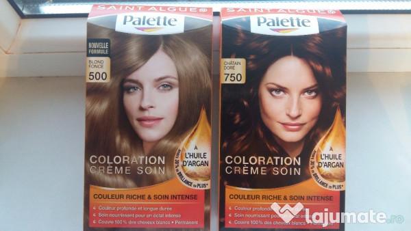 Vopsea de par palette blond castaniu 10 ron for Combien de parpaing par palette