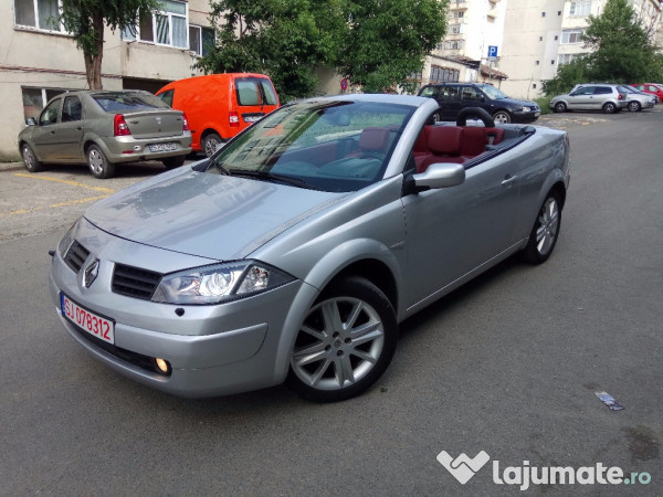 renault megane cabrio karmann an 2005 motor 1 9 dci. Black Bedroom Furniture Sets. Home Design Ideas