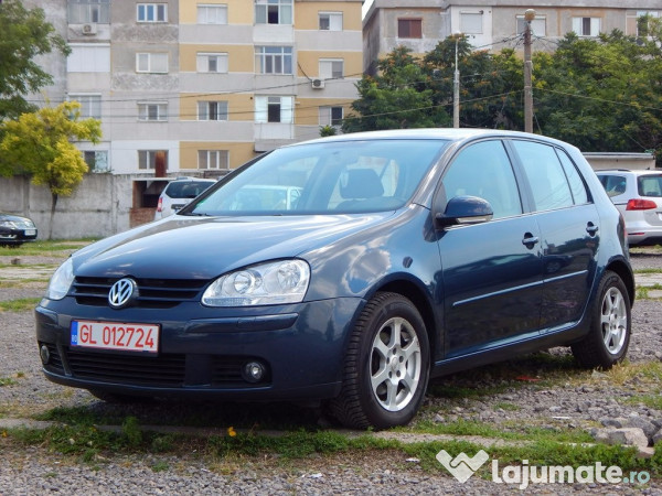 vw golf 5 goal 1 4 i 2006 eur. Black Bedroom Furniture Sets. Home Design Ideas