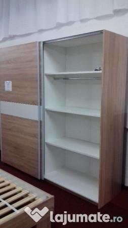 dulap dressing 2m lungime import germania ron. Black Bedroom Furniture Sets. Home Design Ideas