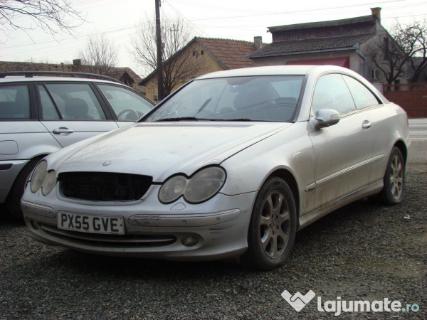 mercedes clk270 coupe 2 7 cdi diesel an 2005 eur. Black Bedroom Furniture Sets. Home Design Ideas