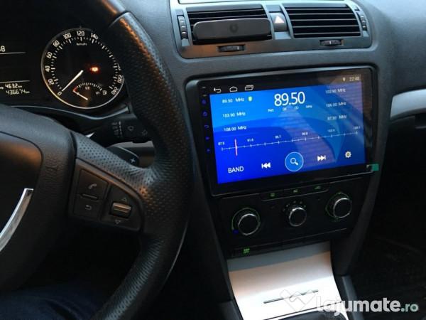 Super Navi CARPAD navigatie Skoda Octavia 2007-2013 Android Waze, 1.499 GO-17