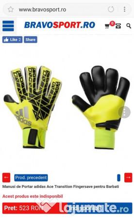 coupon codes sale top fashion Mănuși portar unisex Adidas Ace League, mărimea 11. 150 lei