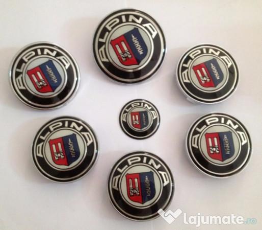 de vanzare magazin oficial vânzare uriașă Capacele ptr jante aliaj Alpina original 60 cu 65 mm, 70 lei ...